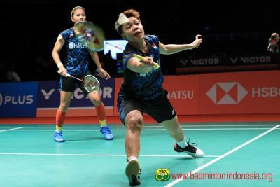 Greysia Apriyani Melaju ke Semifinal Indonesia Masters 2020