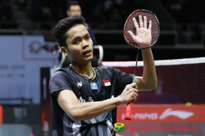 Anthony Jejaki Semifinal Indonesia Masters 2020