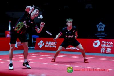 Marcus Kevin Lolos ke Semifinal Indonesia Masters 2020 Usai Kalahkan Wakil Malaysia