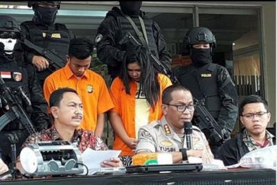 Curi 100 Motor di Jakarta, Pasutri Ini Dibekuk Polisi