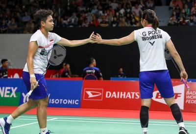 Greysia Apriyani Ingin Jaga Momentum di Final Indonesia Masters 2020