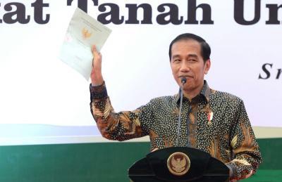 Imbas Banyak Tanah Belum Bersertifikat, Jokowi: Bikin Sengketa di Mana-Mana