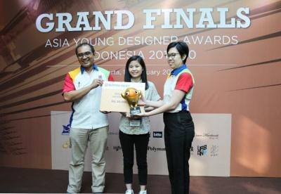 Desainer Muda UPH Raih Penghargaan Gold Winner