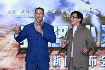 Syuting Bareng, John Cena Berguru dari Jackie Chan