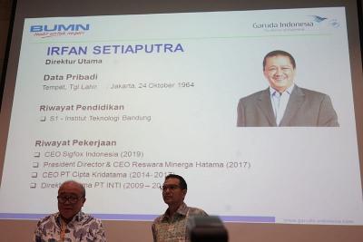 Wejangan Menhub ke Irfan Setiaputra Cs soal Garuda Indonesia