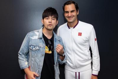 Cerita Kocak Jay Chou Temani Istri Bertemu Petenis Dunia Roger Federer