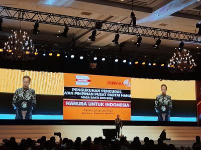Jokowi Yakin Hanura Bisa Cegah Politik SARA