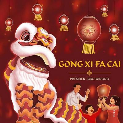 Jokowi: Gong Xi Fa Cai, Selamat Tahun Baru Imlek 2571
