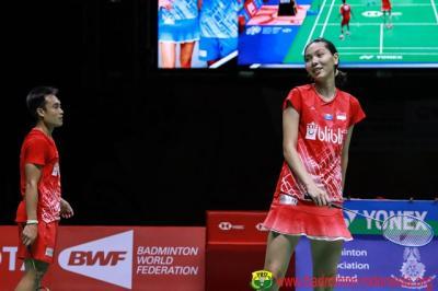Kalah dari Pasangan Inggris, Hafiz Gloria Runner-up Thailand Masters 2020
