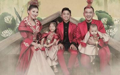 Ruben Onsu dan Sarwendah Tampil Mesra Rayakan Imlek, Donna Agnesia: Queen and King