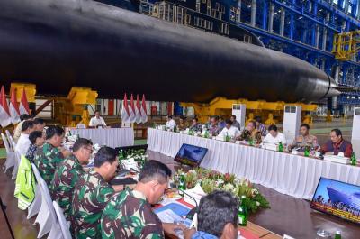 Kenangan Jokowi soal Amburadulnya Manajemen PT PAL 5 Tahun Lalu