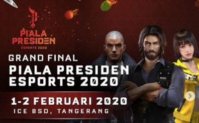 Tim Indonesia Masuk Grand Final di Semua Cabang Permainan Piala Presiden Esports 2020