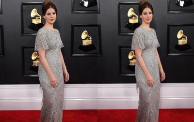 Lana del Rey Buktikan Gaun di Mal Juga Bisa untuk Tampilan Red Carpet