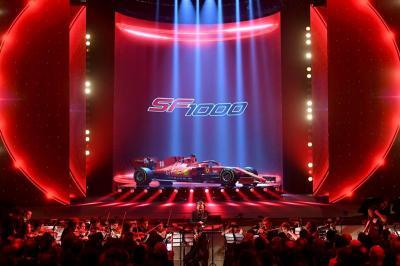 Scuderia Ferrari Luncurkan Mobil SF1000 untuk F1 2020