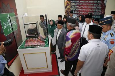 Buka Pameran di Banten, Maruf Amin Ajak Masyarakat Teladani Sifat Rasul