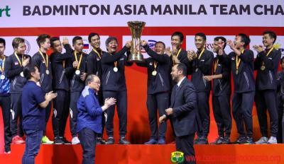 Sejak 2016, Tim Putra Indonesia Tak Terkalahkan di Sepanjang Kejuaraan Beregu Asia