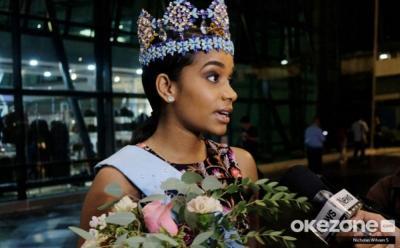Ke Indonesia, Miss World 2019 Tony Ann-Singh Penasaran Cicipi Es Kepal