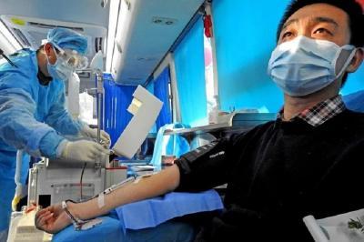 China Minta Pasien Sembuh COVID-19 Sumbangkan Plasma Darah untuk Pengobatan