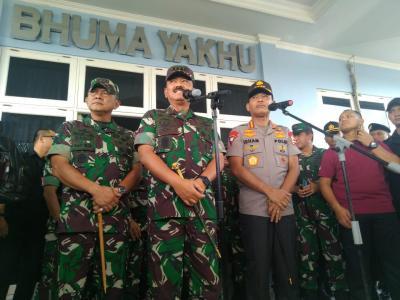Panglima TNI dan Kapolri Tinjau Lokasi Pembangunan Makogabwilhan III di Mimika Hari Ini