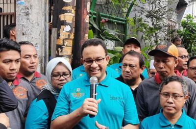 Anies: Warga Jakarta Harus Mampu Mengolah 30 Persen Sampah Rumah Tangga