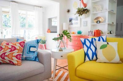 Jangan Takut Coba Warna-Warna Berbeda di Satu Ruangan!