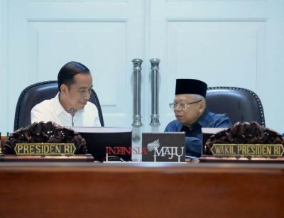 Survei: 61,4% Publik Puas dengan Kinerja 100 Hari Jokowi-Ma'ruf Amin