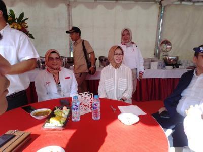 Duduk Berdampingan dengan Airin di HUT Gerindra, Putri Ma'ruf Amin: Silaturahmi Saja