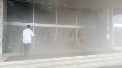 Nusantara III DPR Kebakaran, Penghuni Gedung Sudah Dievakuasi