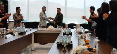 Silaturahmi dengan Hary Tanoesoedibjo, Ketua KPI Pusat: MNC Group Bisa Jadi Sokoguru Industri TV Nasional