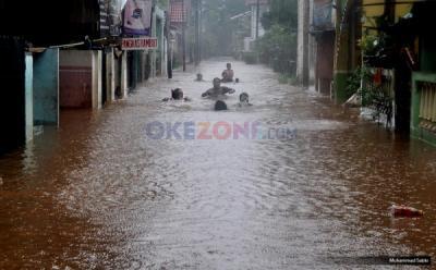 BPBD DKI: Banjir Jakarta Disebabkan Curah Hujan Ekstrem
