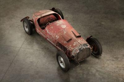 Mobil Bersejarah Diktator Italia Ini Masuk Proses Restorasi