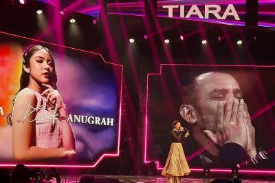 Tiara Anugrah Sukses Bawakan Single Kemenangan Indonesian Idol