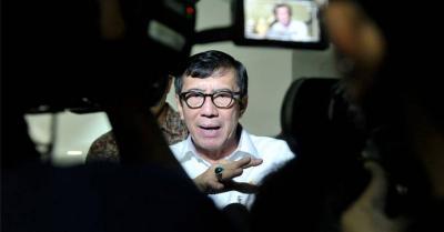 Menteri Yasonna soal Keberadaan Harun Masiku: Tanya ke KPK Dong, Bukan Saya