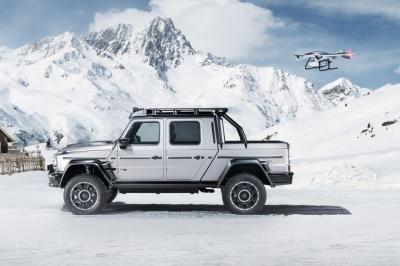 Intip Gubahan Mobil Pikap Mercedes dari Brabus