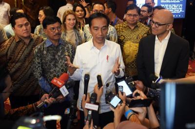 Ekonomi Digital Tumbuh Pesat, Presiden Jokowi: Indonesia Jangan Jadi Penonton Saja