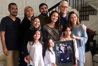 Pulang ke Malaysia, Ibu Ashraf Sinclair Janji Akan Rajin Jenguk BCL dan Noah
