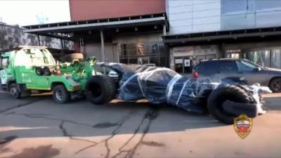 Mobil Batman Kena Tilang di Rusia, Ini Penyebabnya