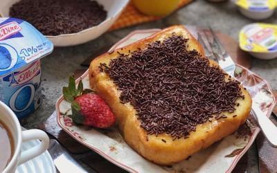 Sarapan Praktis Kaya Rasa, Resep French Toast Cokelat