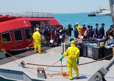 Komisi IX DPR Tidak Sambut Kedatangan 188 Awak Kapal World Dream di Pulau Sebaru