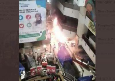 Kebakaran Kios di Thamrin City, Kerugian Ditaksir Rp10 Juta