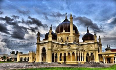 Menengok Masjid Zahir, Ikon Negeri Kedah yang Berumur Seabad Lebih
