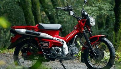 Honda CT125 Kini Tersedia di Jepang