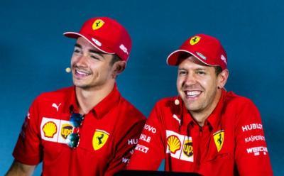 Soal Hubungannya dengan Vettel, Leclerc: Selalu Terjalin dengan Baik