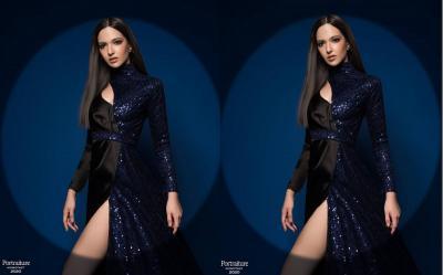 Potret Cantik Nia Ramadhani Berbalut Dress Shimmer