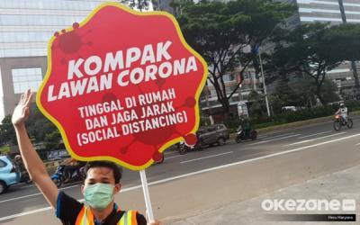 Jakarta Butuh Ketetapan Hukum Terkait Physical Distancing