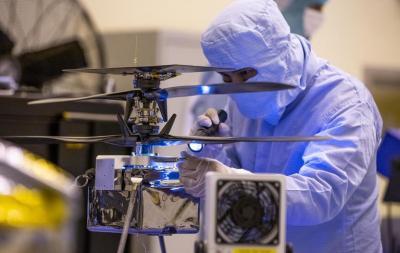 NASA Selesaikan Uji Coba Drone Mars