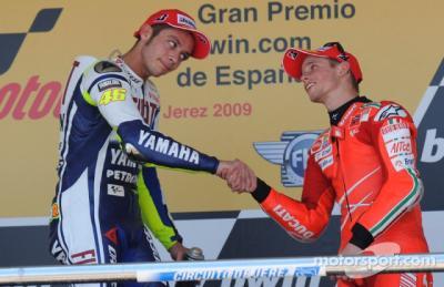 Siapa yang Lebih Baik antara Rossi dengan Stoner? Ini Jawaban Marquez