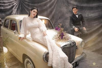 Potret Mesra Felicya Angelista dan Hito Caesar saat Foto Prawedding
