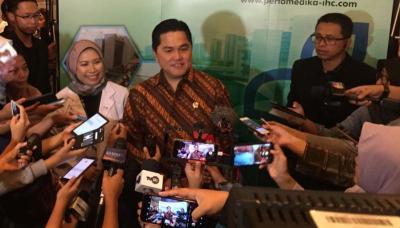 Menteri Erick Beberkan BUMN yang 'Terjangkit' Virus Corona