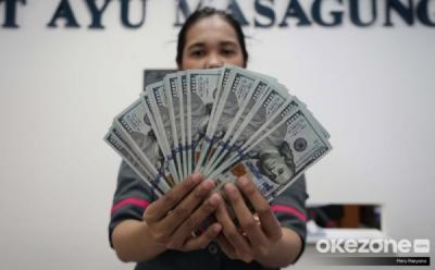 Dolar AS Naik 2,3% dalam Sepekan